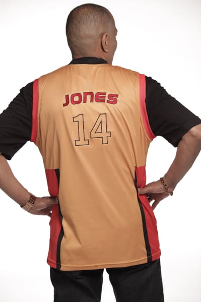 Basketball Jersey Back