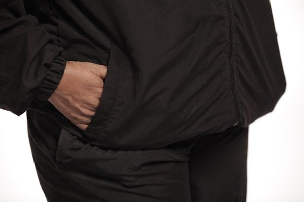 Micro Fiber Sweatsuit - pockets