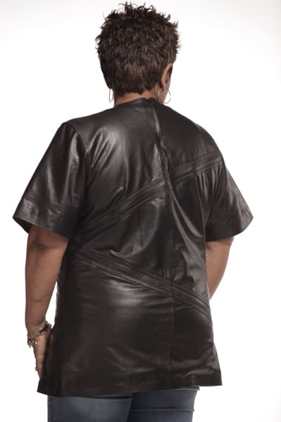 Women Leather Top -Long