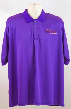 alumni4life-church-purple polo shirt